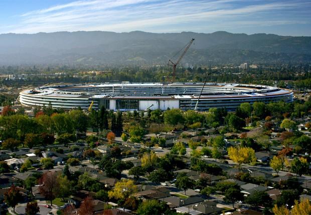 Apple Park, novo escritório da Apple (Foto: Divulgação)