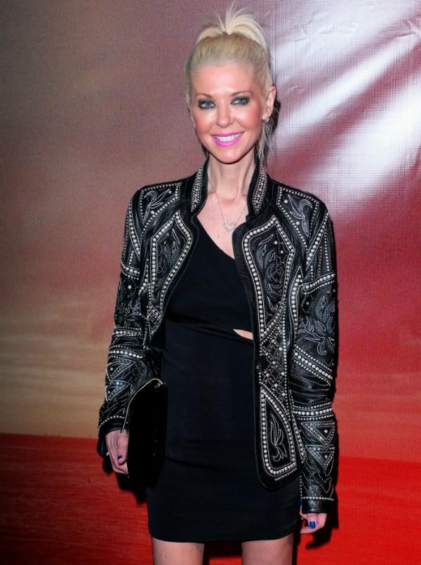 Tara Reid durante evento em Los Angeles (Foto: Getty Images)