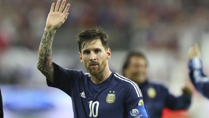 Messi Argentina Estados Unidos (Foto: EFE)