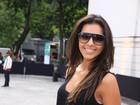 Veja os famosos que badalaram no Fashion Rio nesta terça, dia 22