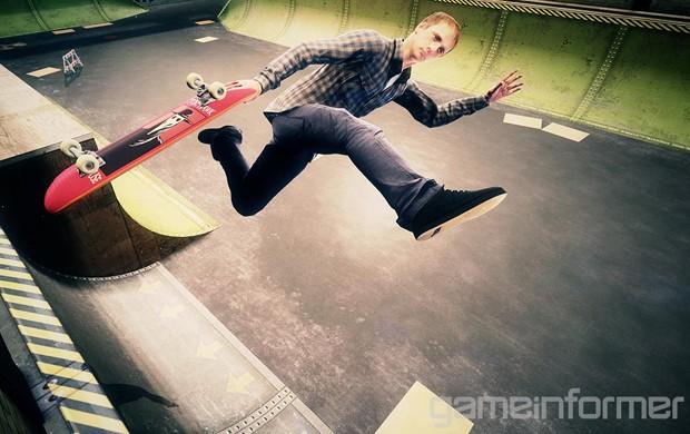 O falcão voltou! 'Tony Hawk's Pro Skater 5' promete volta às origens da série e chega no final de 2015 (Foto: Reprodução/Game Informer)