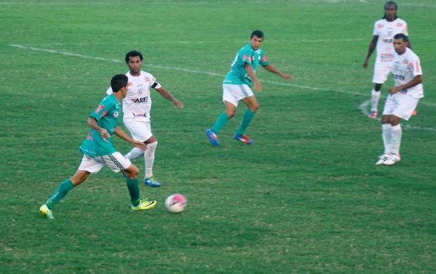 Jogo do Maranguape pelo Campeonato Cearense Série B (Foto: Divulgação/Maranguape)