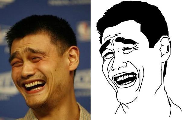 eternizado como meme na web chinês yao ming completa 33 anos