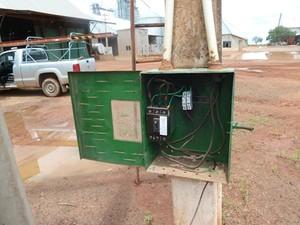 Fazenda de agronegócio sem medição (Foto: Divulgação/Eletrobras)