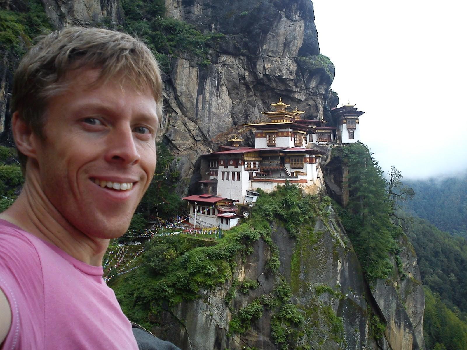 Gunnar Garfors em Butão, na Ásia (Foto: Divulgação)