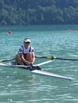 Fabiana Beltrame ficou em quarto lugar no Mundial