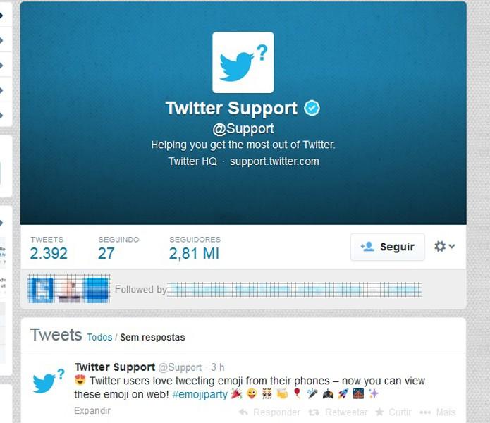 Twitter passa a permitir visualização de emoji na versão web (Foto: Reprodução/Barbara Mannara)