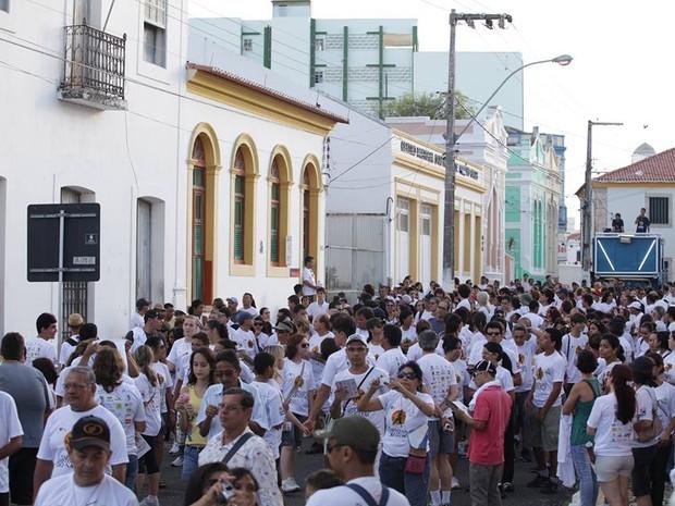 Caminhada histórica acontece no dia 19 de novembro, a partir das 15h, com saída da Praça André de Albuquerque (Foto: Demis Roussos)