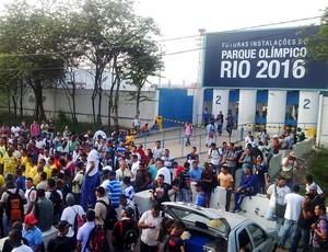 greve Parque Olimpico Rio 2016 (Foto: Gabriel Fricke)