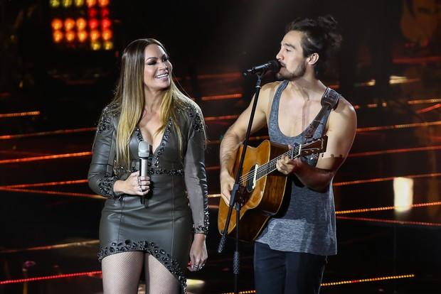 Solange Almeida e Tiago Iorc (Foto: Manuela Scarpa/Brazil News)