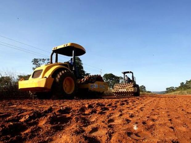 Supostas irregularidades ocorreram durante licitação para pavimentação da MT-133 (Foto: Divulgação/Seges-MT)