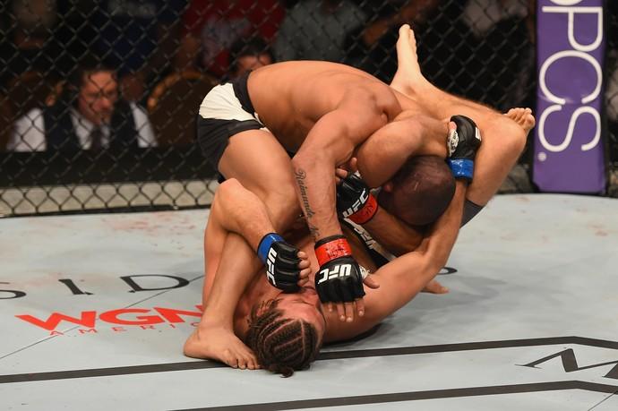 Diego Brandão, Brian Ortega, UFC 195, MMA (Foto: Getty Images)