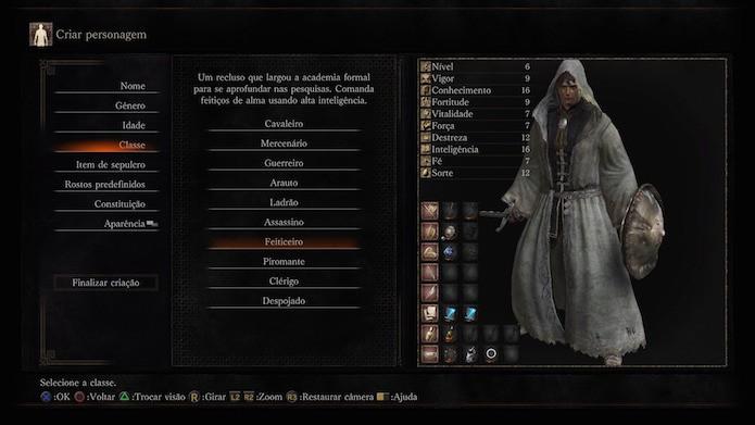 Dark Souls 3: feiticeiro (Foto: Reprodução/Victor Teixeira)
