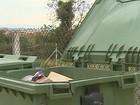 Taxa de coleta de lixo vai aumentar 3%  (reprodução/TV Vanguarda)