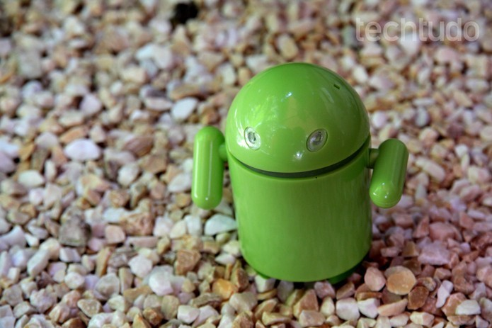 Robô Android home (Foto: TechTudo/ Luciana Maline)