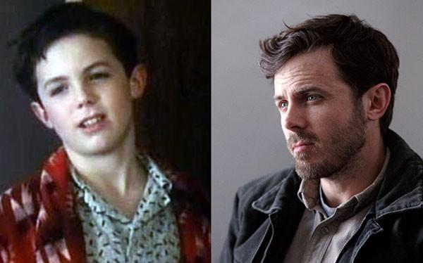 Casey Affleck em 'Lemon Sky' (1988) e 'Manchester À Beira-Mar' (2016) (Foto: Divulgação)