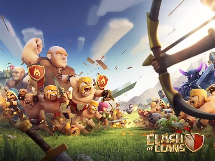 Você não vai mais precisar de um celular para jogar Clash of Clans (Foto: Divulgação/Supercell)