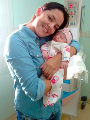 Antonela nasceu no dia em que a tragédia completou três anos (Foto: Lara Neto/Arquivo Pessoal)