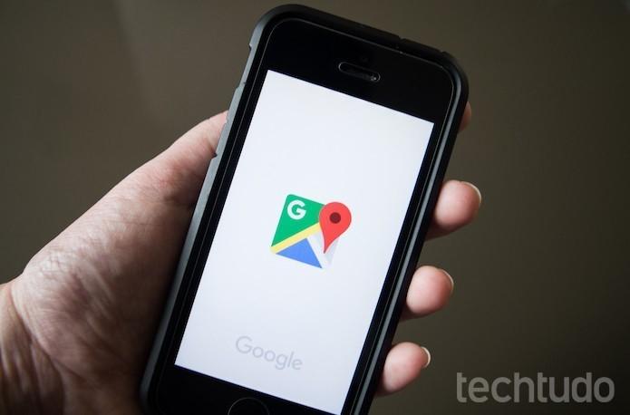 Google Maps: confira o trânsito próximo com o atalho para iPhone (Foto: Marvin Costa/TechTudo)