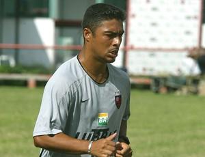 Cassio no treino do Flamengo (Foto: Arquivo / Extra)