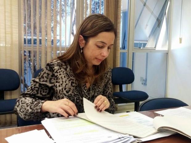 Juíza Flávia de Oliveira, da 93ª zona eleitoral de Piracicaba (Foto: Araripe Castilho/G1)