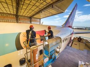 Avião temático da TAM (Foto: Divulação/TAM)