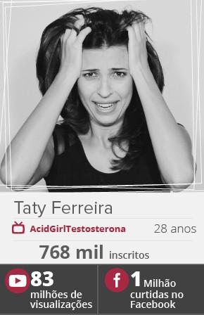 A youtuber Taty Ferreira (Foto: Divulgação)