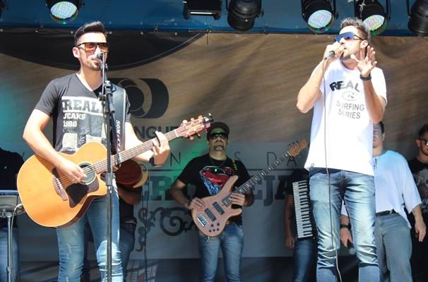 Brunno e Felipe são os primeiros finalistas apresentados no último sábado (15) (Foto: TV Anhanguera)