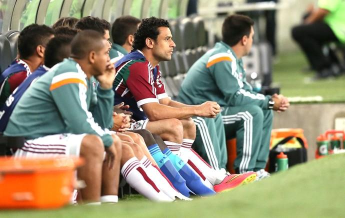 Fred, Fluminense e Coritiba (Foto: Dhavid Normando / Agência estado)
