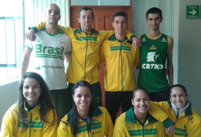 Seleção brasileira já está em Aguascalientes, no México (Foto: Reprodução/Facebook)