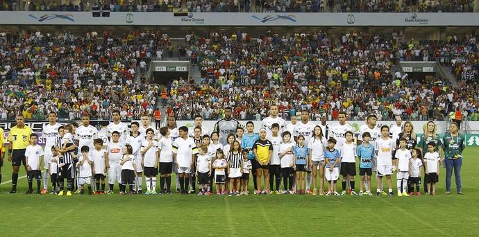 Santos, Arena Pantanal (Foto: Ricardo Saibun/Santos FC)