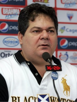 Osmar Baquit, presidente do Fortaleza (Foto: Alex Costa / Ag. Diário)