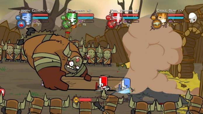 Castle Crashers é um ótimo título para ser jogado com os amigos (Foto: Divulgação)