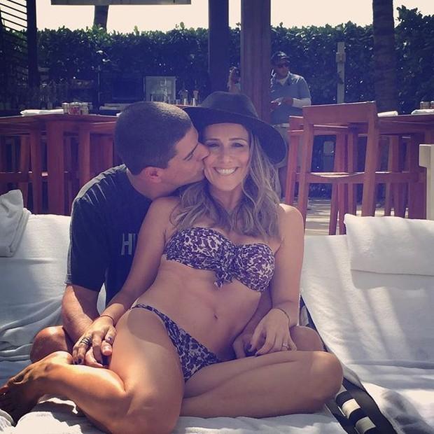 Fernanda Pontes com o marido, Diogo Boni  (Foto: Reprodução/Instagram)