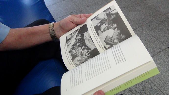 História do Futebol Alagoano Lauthenay Perdigão (Foto: Viviane Leão/GloboEsporte.com)