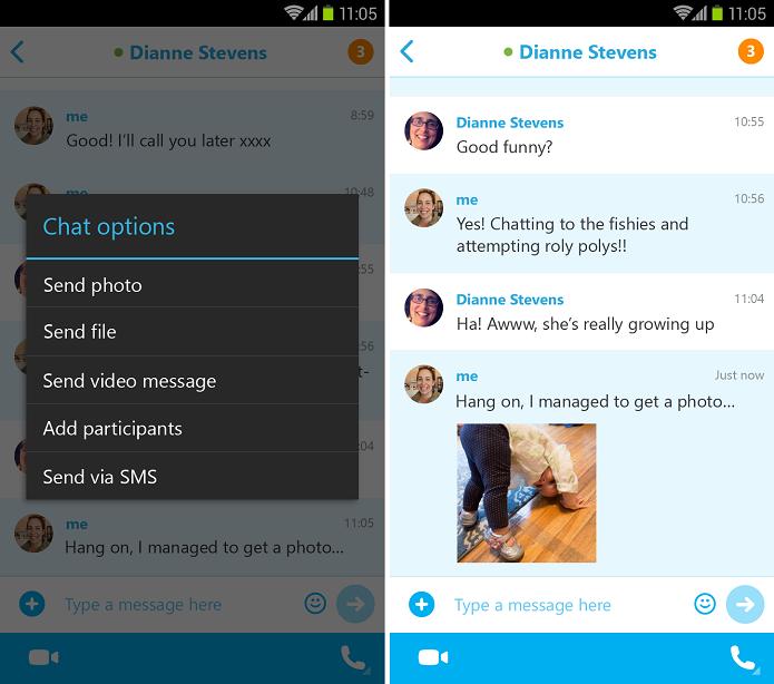 Skype ganhou update importante no Android (Foto: Divulgação)