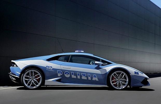 Lamborghini Huracán LP 610-4 Polizia (Foto: Divulgação)
