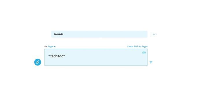 skype tachado