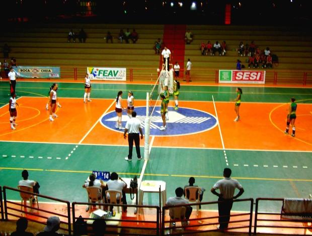 FAEV dilvulga calendário de competições do voleibol acreano. (Foto: Cedida)