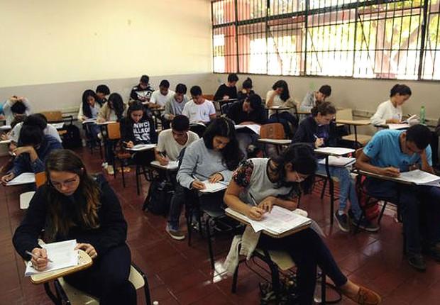 Ensino médio ; educação ; Enem ;  (Foto: Gabriel Jabur/Agência Brasília/GDF)