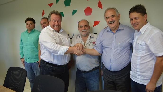 Nilton Macedo Machado presidente SCCLUBES (Foto: Divulgação/SCCLUBES)