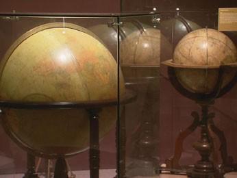 Globos são esféricos para se aproximar à realidade da Terra (Foto: Reprodução / TV Globo)