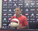 """A. Patrick elogia Diego, admite luta  por vagas e avisa: """"Estou preparado"""""""
