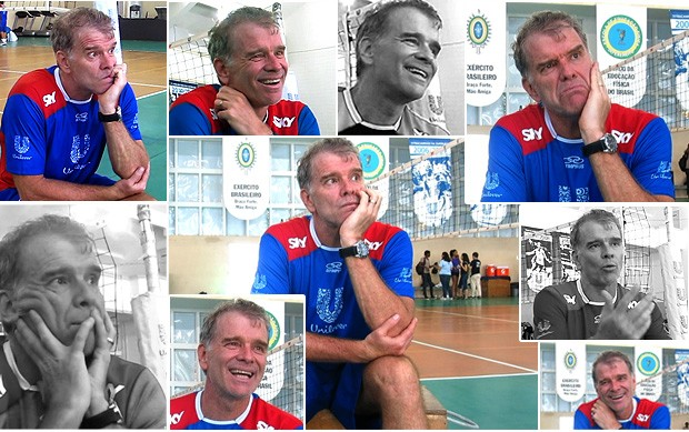 Mosaico Bernardinho entrevista dois minutos (Foto: Reprodução)