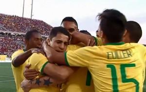 Gol Brasil x Canadá Pan (Foto: Reprodução)