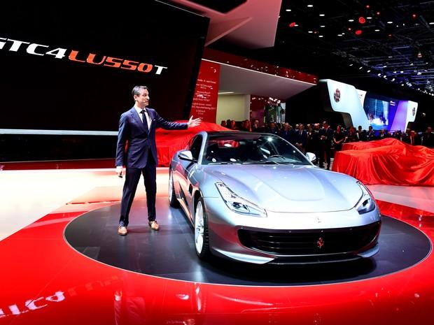 Ferrari GTC4Lusso T (Foto: MIGUEL MEDINA / AFP)