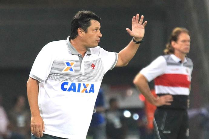 Adilson Batista Vasco e Santa Cruz (Foto: Marcelo Sadio / vasco.com.br)