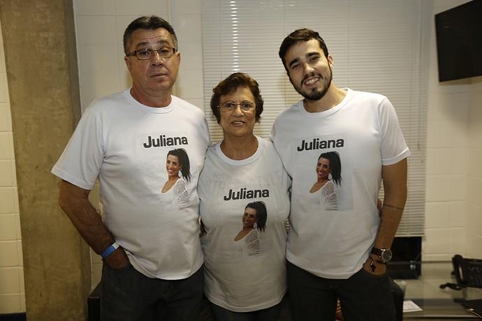 família Juliana eliminação paredão 05 23_02 (Foto: Raphael Dias/Gshow)