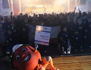 Cerimônia de Abertura - Jogos Abertos do Interior 2013 (Foto: Thiago Fidelix)
