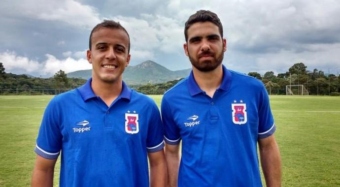 Matheus Carvalho, Rayan, Paraná (Foto: Divulgação/Paraná Clube)